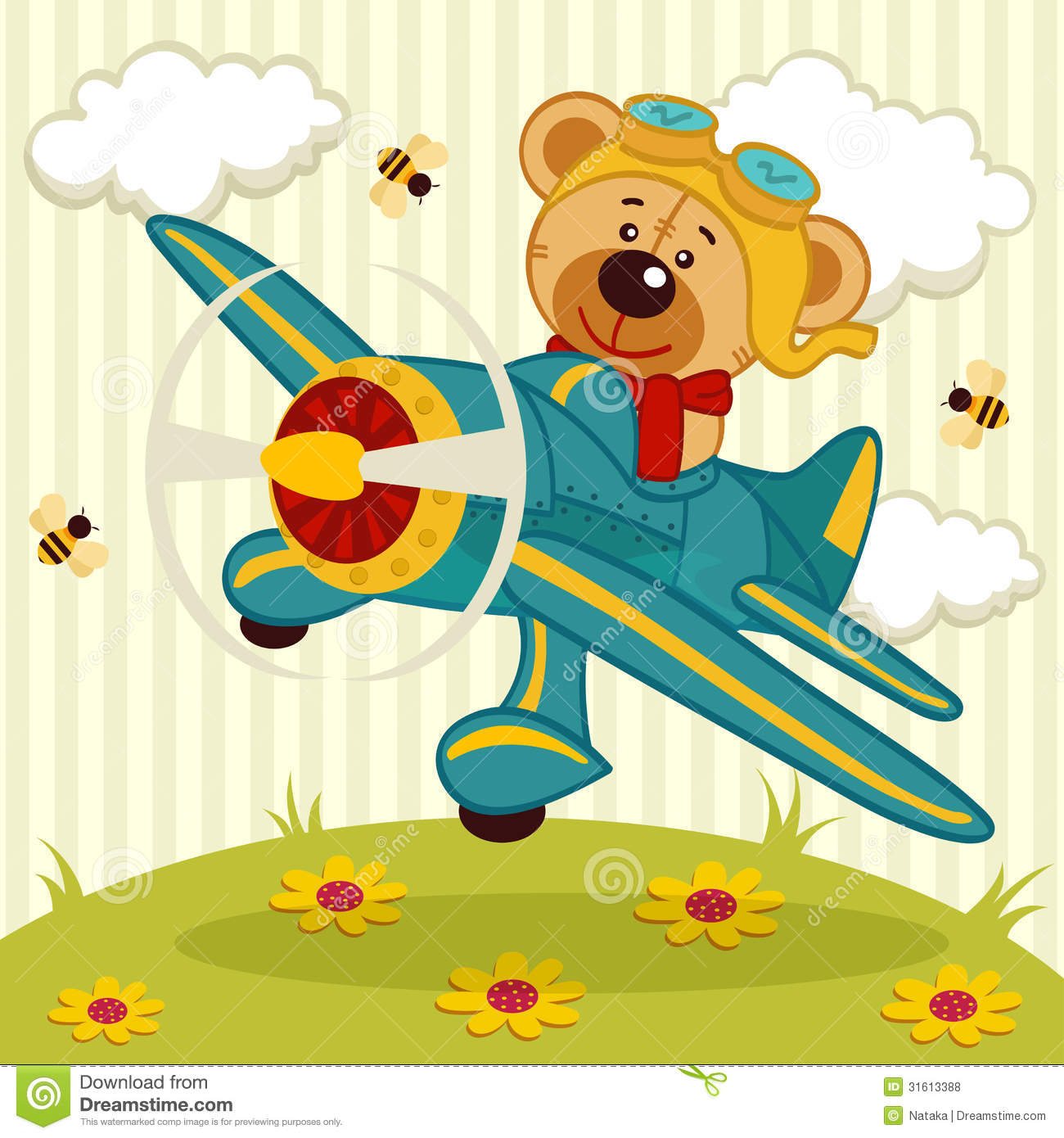teddy-bear-on-airplane-clipart-1