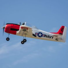 E-Flite T-28 Trojan 1.1m BNF Basic with fixed gear -  discontinued but still available used